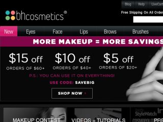 Shop at bhcosmetics.com