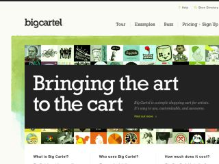 Shop at bigcartel.com