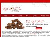 Browse Big Louie's Brownies