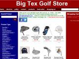 Browse Big Tex Golf Store