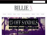 Billiexshoes.co.uk Coupon Codes