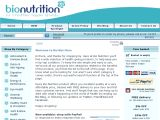 Browse Bio Nutrition Health Products
