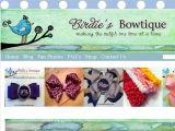Browse Birdie's Bowtique
