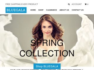 Shop at bluegala.com