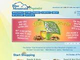 Browse Blue Mountain Organics