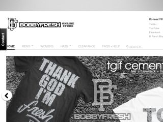 Shop at bobbyfresh.com