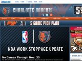 Charlotte Bobcats Coupon Codes
