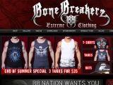 Browse Bonebreakerz Clothing