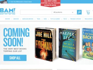Shop at booksamillion.com