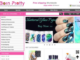 Shop at bornprettystore.com