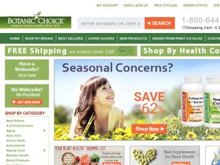 Shop at botanicchoice.com