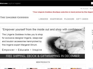 Shop at boutique.thelingeriegoddess.com