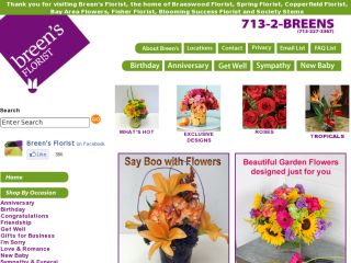 Shop at breensflorist.com