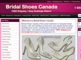 Browse Bridal Shoes Canada