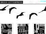 Browse Brixx Letterpress