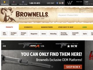 Shop at brownells.com