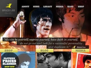 Shop at brucelee.com