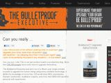 Browse The Bulletproof Executive