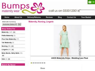 Shop at bumpsmaternity.com