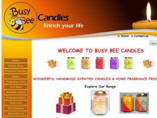 Shop at busybeecandles.co.uk