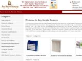 Browse Buy  Acrylic Displays