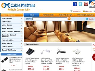 Shop at cablematters.com