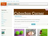 Cabochoncorner.etsy.com Coupons