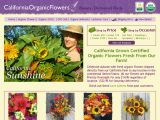 Browse California Organic Flowers