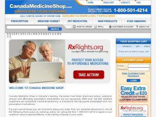 Shop at canadamedicineshop.com