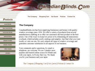 Shop at canadianblinds.com