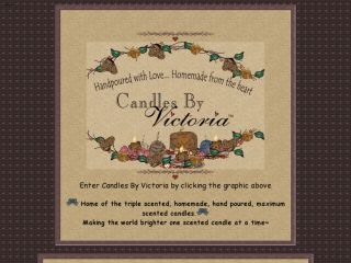 Shop at candlesbyvictoria.com