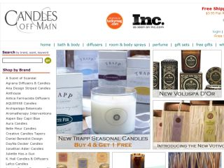Shop at candlesoffmain.com
