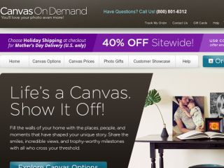 Shop at canvasondemand.com