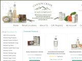 Browse Canyon Creek Soap Company