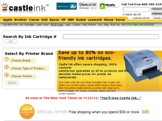 Shop at castleink.com