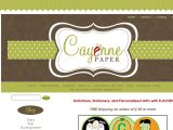 Browse Cayenne Paper