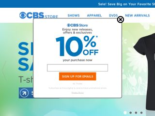Shop at cbsstore.com