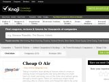 Cheapoair.knoji.com Coupon Codes