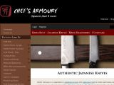 Browse Chef's Armoury - Japanese Knives