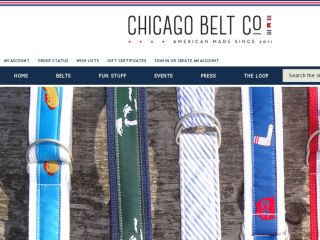 Shop at chicagobeltco.com