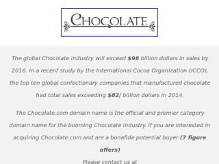 Shop at chocolate.com