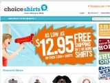 Choiceshirts Coupon Codes