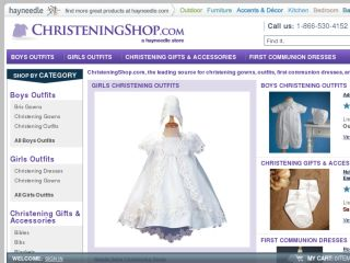 Shop at christeningshop.com