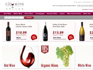 Shop at citywinecellar.com