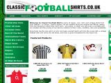 Classicfootballshirts.co.uk Coupon Codes
