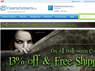 Shop at clearlycontacts.ca