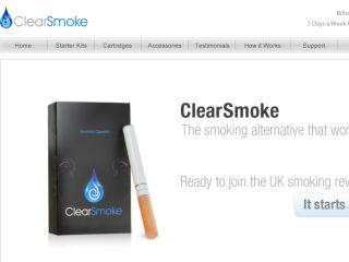 Shop at clearsmoke.co.uk
