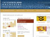 Browse The Cleveland Orchestra