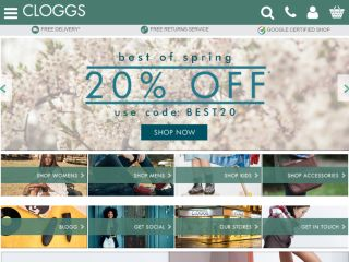 Shop at cloggs.co.uk
