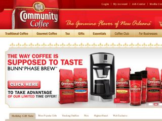 Shop at communitycoffee.com